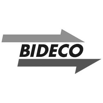 Logo BIDECO in schwarz-weiß