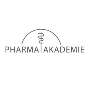 Logo Pharmaakademie in schwarz-weiß